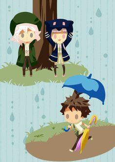 Nagito, Hajime and Chiaki