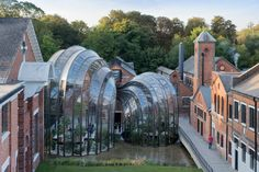 Bombay Sapphire Distillery, Laverstoke, UK   Heatherwick Studio