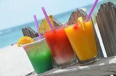 Beach drinks...