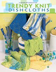 As knitted dishcloth patterns go, this is a favorite. It's simple enough to do with the kids all over you, and fun enough to do over and over for gifts.