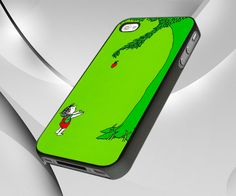 iPhone Cover, Bluish Green The Giving Tree 2