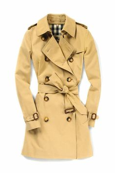 Fashion's Night Out 2012 Trenchcoat von Burberry
