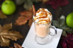 Apple Pie Smoothie Recipe - RecipeChart.com #Drinks