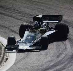 on the limit …Ronnie Peterson, JPS Lotus-Ford 76, 1974 Spanish Grand Prix, Jarama
