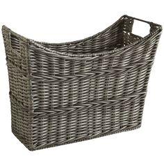 Collin Magazine Basket - Gray | Pier 1 Imports
