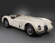 JAGUAR C-TYPE (1952) one of the most beautiful cars ever made.