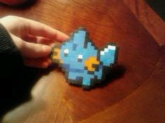 Pokemon perler bead mudkip.