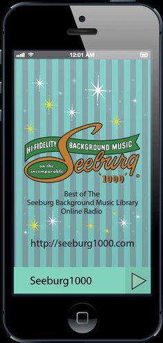 Seeburg1000 now has an app at  http://appstore.com/seeburg1000.  As always you can find out more at seeburg1000.com.  Cool retro music created back in the 50s, 60s, some 70s  and a bit of the early 80s.