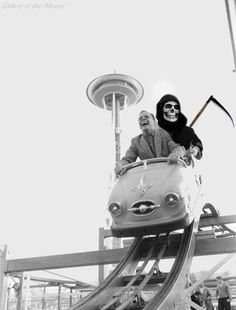 Life and death on a roller coaster ride.