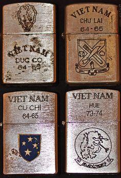 VIETNAM ZIPPO LIGHTERS