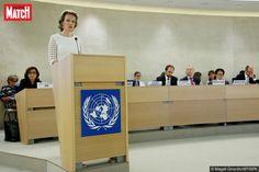 Ce mardi, la reine Mathilde était à Genève. L'épouse du roi des Belges s'est faite la porte-parole de la cause féminine devant le Conseil des droits de l'homme des Nations Unies, avant de participer à une réunion au Haut-commissariat pour les réfugiés.