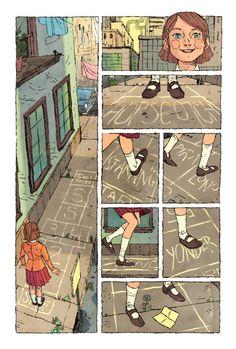 Jake Wyatt's comics are stunning!