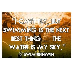 my favorite quote about swimming but the thing that sucks is fly is my second worst stroke Swimmer Quotes, Swimmer Problems, Girl Problems, Swimming Motivation, Swimming Memes, I Love Swimming, Swim Mom, Competitive Swimming, Motivational Quotes