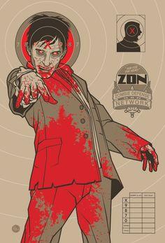 Printable Zombie targets