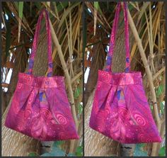 Psychedelic satin pleated purse by liliv | Project | Sewing / Bags & Purses | Kollabora #diy #kollabora #sewing #bag