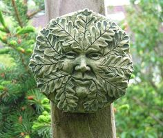 Oak Green Man (small)