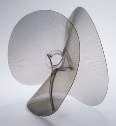 Naum Gabo (born Naum Neemia Pevsner -  Russian) Spheric theme : transparent variation, c.1937. Gabo left Russia and emigrated to England where he was introduced to a new variety of Plastic called Perspex.