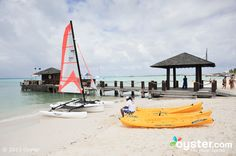 Always wanted to try kayaking!  Watersports at the Occidental Grand Aruba  #aioutlet