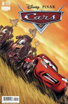 Cars (2009 2nd Series Boom Studios) #5A Comic book cover disney
