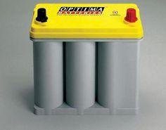 Autobaterie OPTIMA Yellow Top   Trakční baterie splňující extrémní nároky  (výkonné stereo, AV systémy, přídavná světla, navijáky, elektrohydraulické systémy ...)  akumulátory se žlutým víkem pro startování a trakční použití (vyšší odolnost hlubokému vybití) v kapacitách 55 - 75Ah a vybíjecími proudy 690 - 975A (EN) Yellow Top, Canning, Box, Snare Drum, Home Canning, Conservation