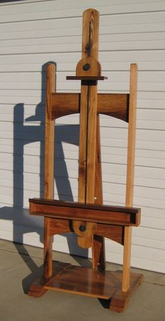 This is like sculpture. And far prettier than what's in my studio now. http://www.kaboodle.com/reviews/easel-for-flat-screen-tv