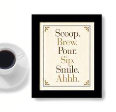 Coffee Art Kitchen Art Decor Coffee Mug