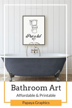 Printable Wall Art for Bathrooms is a fast easy way to decorate your home decor. Make a gallery wall of prints for your bathroom decor Have a look at the growing range from Papaya Graphics, all our wall art is printable. -------------------- Affordable and instant download for you to print at your own leisure. Comes an a variety of sizes and rations all high resolution for great quality printing. ★Print as many times as you like ★ #printable #homedecor #bathroom #bathroomdecor #wallart #etsy Home Decor Wall Art, Home Art, Baby Name Art, Make Up Organizer, Succulent Wall Art, Nautical Nursery Decor, Bathroom Wall Art, Quality Printing, Printable Wall Art
