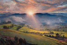 Dame Laura Knight  (1877-1970) — Sundown, 1940–1947  (944x632)