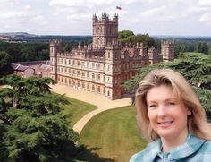 Highclere Castle, Hampshire, England - The official residence of Countess of Carnarvon. Watch http://destinations-for-travelers.blogspot.com.br/2014/08/castelo-highclere-downton-abbey-hampshire-inglaterra.html