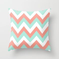 How To Select Little One Dresses Coral Throw Pillows Mint and Coral Chevron Throw Pillow Dream Bedroom, Girls Bedroom, Bedroom Decor, Bedroom Ideas, Coral Room Decor, Coral Bedroom, Bedrooms, Coral Throw Pillows, Cute Pillows