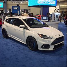 2016 Ford Focus RS white