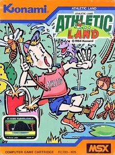 Konami Athletic Land - (Msx, 1984 Konami)