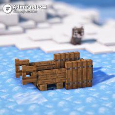 My Sleigh Design 🛷 : Minecraft Minecraft Images, Cute Minecraft Houses, Minecraft Room, Minecraft House Designs, Amazing Minecraft, Minecraft Creations, Minecraft Crafts, Minecraft Stuff, Minecraft Furniture