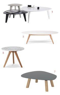 Table basse scandinave ronde blanc copenhague 80 table for Table basse scandinave ronde copenhague 80