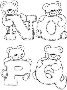 Alphabet Coloring Pages, Cute Coloring Pages, Printable Coloring Pages, Hand Lettering Alphabet, Calligraphy Alphabet, Art Drawings For Kids, Disney Drawings, Gravure Laser, Stylish Alphabets