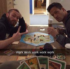 Jake McLaughlin and Josh Hopkins. Quantico