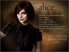 The Twilight Saga: New Moon Alice Twilight, Twilight Saga New Moon, Twilight Quotes, Twilight Saga Series, Twilight Breaking Dawn, Twilight Cast, Twilight Pictures, Twilight Movie, Twilight Story