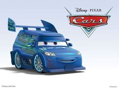 DJ - Another member of the Delinquent Road Hazards, DJ is a 2004 Scion xB outfitted with a load stereo system he uses to soothe Lightning McQueen to sleep.