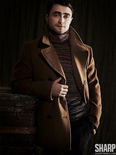 Daniel Radcliffe Dons Dapper Styles for Sharp  image daniel radcliffe 0005