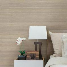 Brewster Fernie Brown Challis Silk Wallpaper-2741-6048 - The Home Depot