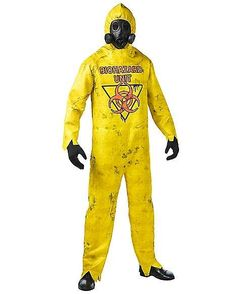 Adult Hazmat Suit Costume - FOREVER HALLOWEEN Scary Halloween Costumes, Halloween Horror, Hazmat Suit Costume, Cosplay, Put On, Canada Goose Jackets, Winter Jackets, Suits, Birthday Ideas