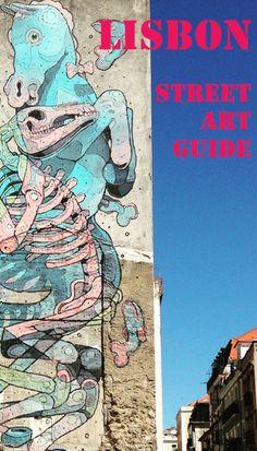 Lisbon Street Art Guide || Read it here: http://www.blocal-travel.com/street-art/lisbon-street-art-guide/