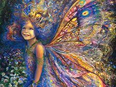 """Gossamer and Thistledown"" ~ Fairies by Josephine Wall ~"