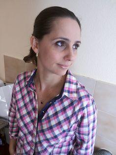 Blog Femina - Modéstia e Elegância: Camisa xadrez e ripped skinny jeans