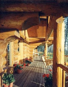 . . .and YES!! A porch swing.