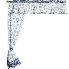 Bavlněné závěsy s lemovkou Indigo Net Curtains, Indigo, Home Decor, Curtains, Decoration Home, Sheer Curtains, Indigo Dye, Room Decor, Home Interior Design