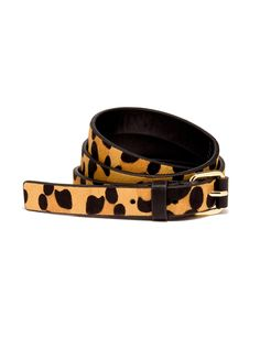 Leopard Haircalf Skinny Belt | Women's Belts | THE LIMITED