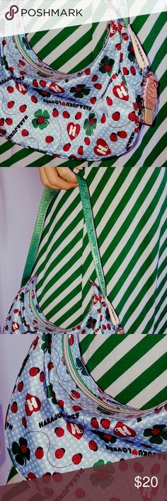 Harajuku Lovers Bag Gwen Stefani Ladybug  Shamrock Cute little bag from Harajuku Lovers. In great condition. Harajuku Lovers Bags Hobos
