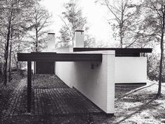 Molkte House designed by Knud Friis and Elmar Moltke, 1957