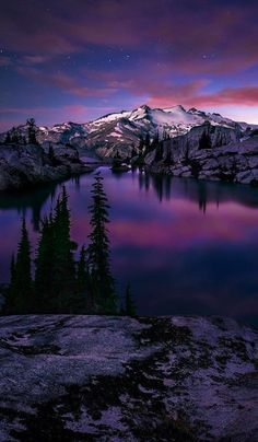 Valley of the blue moon in the North Cascades National Park of Washington • photo: Michael Bollino on 500px